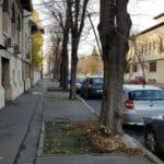 Aleea Alexandru din Bucuresti, in zona restaurantului Uptown