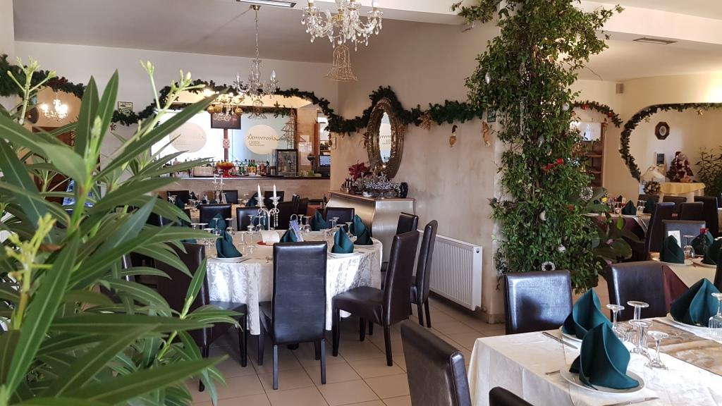 Restaurant grecesc autentic al doameni Evanthia Zisi