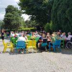 Beraria H in Parcul Herastrau - terasa