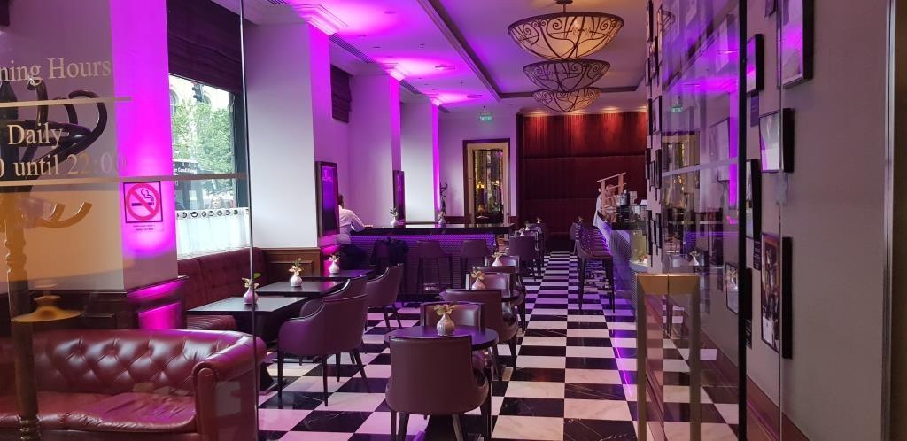 Cafe Athenee, la Athenee Palace Hilton