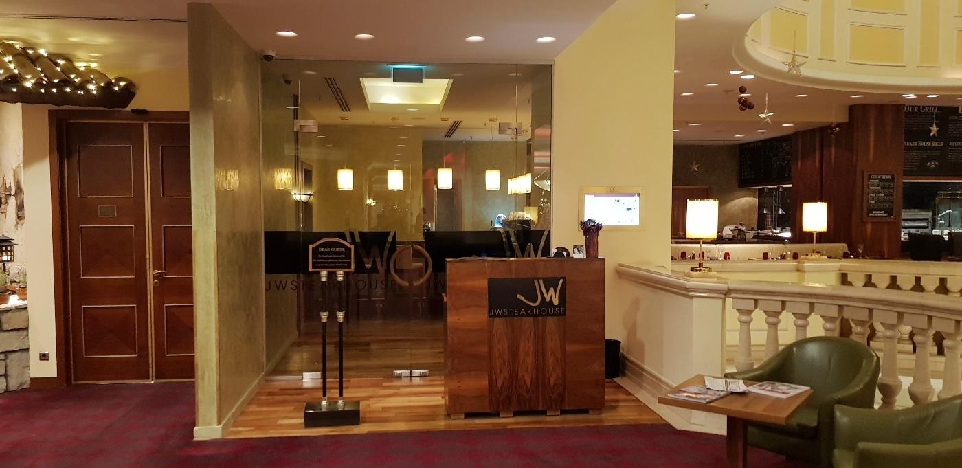 Jw steakhouse restaurant cu bucatarie americana la for 416 americana cuisine