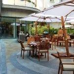 La Strada, terasa de vara a hotelului Athenee Palace Hilton din Bucuresti