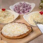 Salata de icre de stiuca cu ulei de samburi struguri