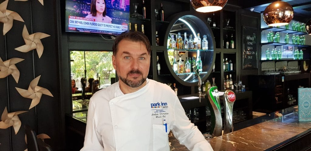 Stefan Paraschiv, head chef Sharkia