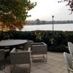 Aqua, restaurant cu bucatarie internationala pe malul lacului Herastrau