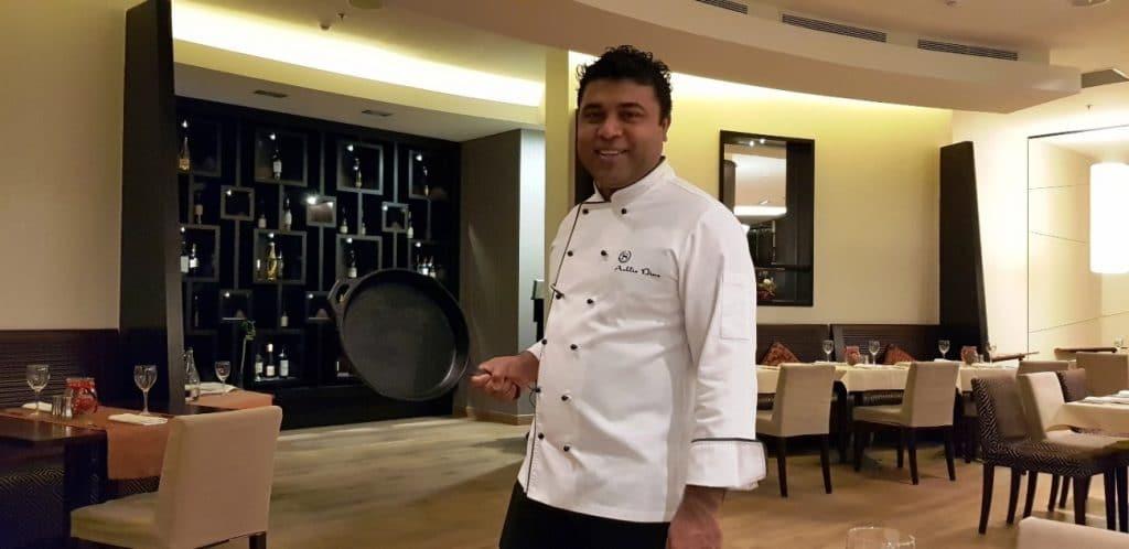 Ashlie Dias, executive chef al Hotelului Sheraton Bucuresti
