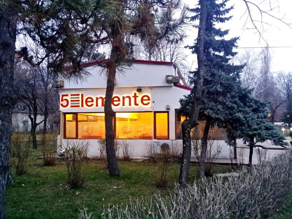 5 Elemente, restaurant chinezesc si international in Parcul Herastrau