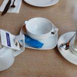 Breakfast la Caffe Citta de la hotelul Radisson