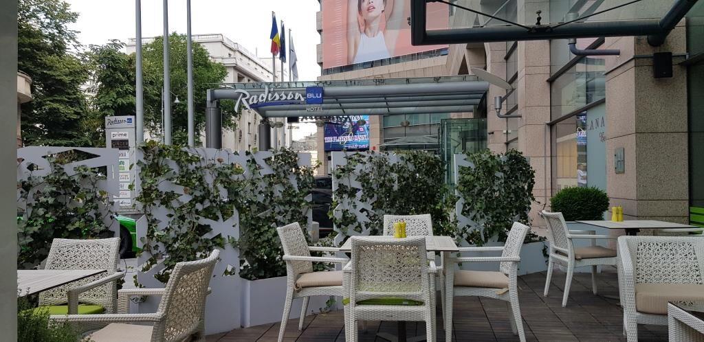 Caffe Citta restaurant italian la hotelul Radisson Blu