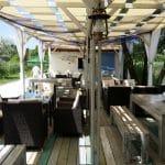 Metafish, restaurant pescaresc grecesc in Complex Jardin, lacul Plumbuita