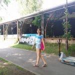 Nuba, terasa in Parcul Herastrau