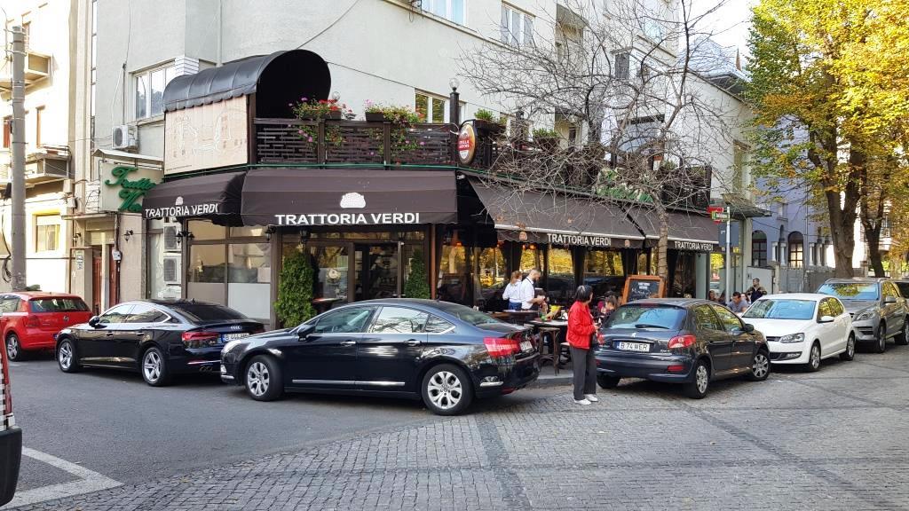 Trattoria Verdi in Bulevardul Aviatorilor, bucatarie italiana populara