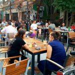 Club Fabrica, local boem pe strada 11 Iunie, langa parcul Carol