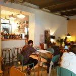 M60, cafenea boema la Piata Amzei in Bucuresti