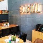 Social 1, restaurant cu bar in Piata Constitutiei