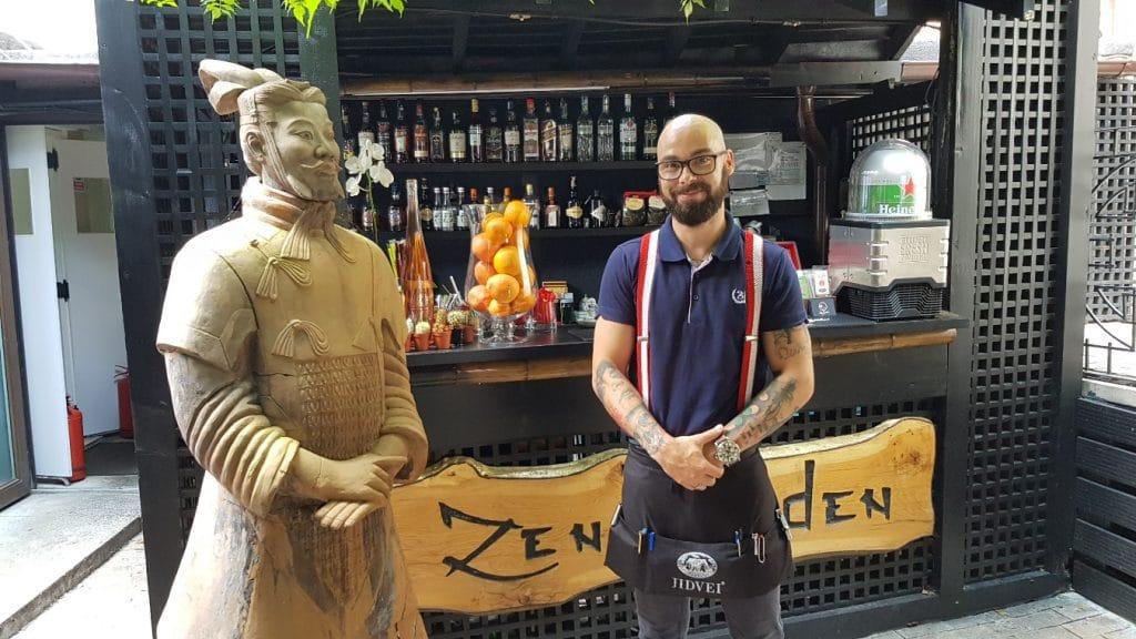 Zen Garden, restaurant chinezesc cu terasa in Bucuresti, pe Silvestru
