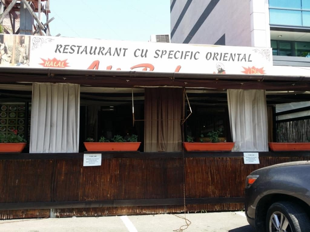 Ali Baba, restaurantul oriental de la pasajul Piata Muncii din Bucuresti