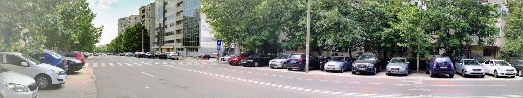 Bulevardul Mircea Voda din Bucuresti, pe la restaurantul Sardin