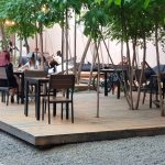 Gradina Dorobanti, terasa cafenea si bar in Calea Dorobantilor din Bucuresti