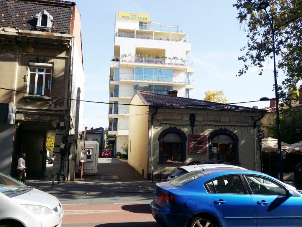 Hotelul Marshal Garden de pe Calea Dorobantilor, cu restaurantul Danieli