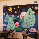 Lente Dionisie Lupu (Piata Lahovari), cafenea boema cu street food