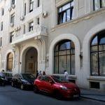 Palatul Universul si fosta tipografie Universul din strada Ion Brezoianu