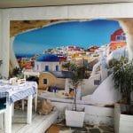 Santorini, restaurant grecesc pe Mihai Bravu, la Piata Muncii