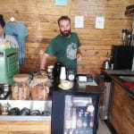 Steam, mini-cafenea hipster la Charles de Gaulle in Bucuresti