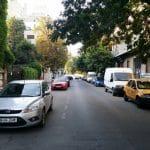 Strada Dionisie Lupu din Bucuresti, aproape de Piata Lahovary