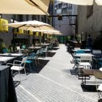 Terasa Beans & Dots, cafenea si concept store in Palatul Universul