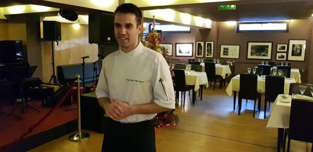 Chef Thomas Parnaud - La Cave de Bucarest