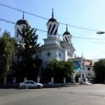 Strada Silvestru din Bucuresti, cu Biserica Silvestru