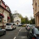 Bulevardul Schitu Magureanu, pe la Piata Ioan Paul al II-lea si Biserica Schitu Magureanu