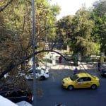 Bulevardul Schitu Magureanu si Parcul Cismigiu din Bucuresti