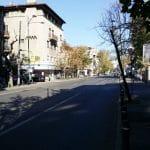 Calea Dorobantilor cu cafeneaua Dose si alte restaurante