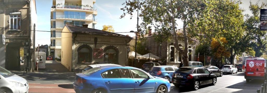 Calea Dorobantilor din Bucuresti intre Perla si Dacia
