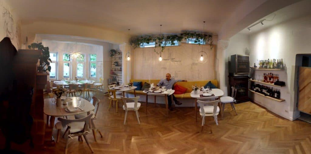Hooga, restaurant cu bucatarie europeana moderna pe Theodor Iliescu in Bucuresti