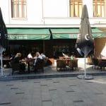 Piata Amzei, cu Ryans, Camera din Fata si alte restaurante si cafenele