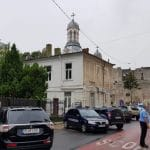 Piata Amzei la Biserica Amzei si a bistroului Galli