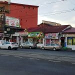 Piata Domenii, cu restaurantele Murad, Sabatini, Fench Bakery si altele