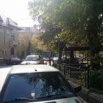 Piata Sfantul Stefan din Bucuresti, cu restaurantul Nonna Mia