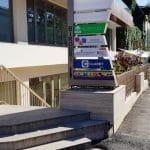 Strada Clucerului cu Trattoria Il Calcio, Frank, Piccolo Mondo si altele