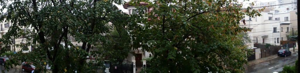Strada Theodor Iliescu, in jurul restaurantului Hooga din Bucuresti