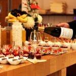 Brunch la Hilton cu vinuri Kvint din Transnistria, food & wine pairing