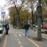 Bulevardul Aviatorilor si Piata Charles de Gaulle din Bucuresti
