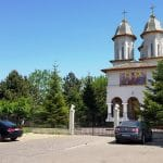Bulevardul Pipera, in dreptul Bisericii Adormirea Maicii Domnului si al restaurantului Arabesk
