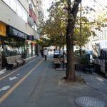 Calea Dorobantilor din Bucuresti, in jurul cafenelei Teds