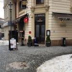 Centrul Vechi al Bucurestiului, cunoscut si ca Centrul Istoric, cu numeroase restaurante