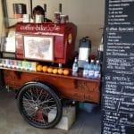 Coffe Bike, cafeneaua boema cu terasa la British Council in Bucuresti
