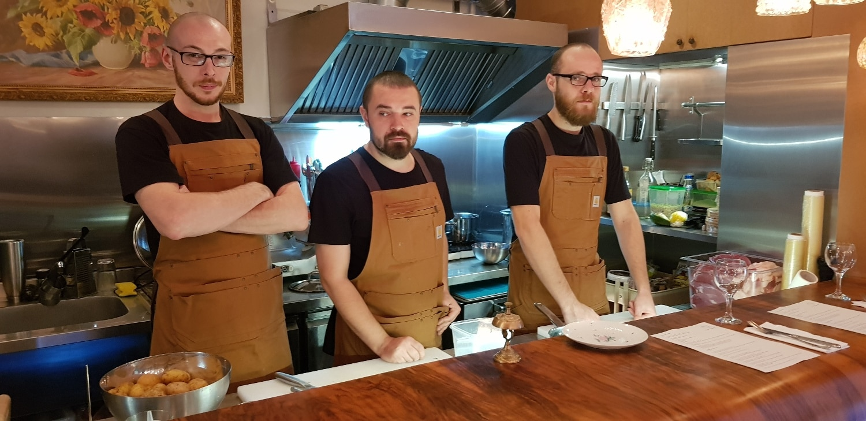 MA Bistro, mic restaurant boem la Piata Floreasca in Bucuresti